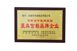 河南十佳科技型最具信赖品牌企业